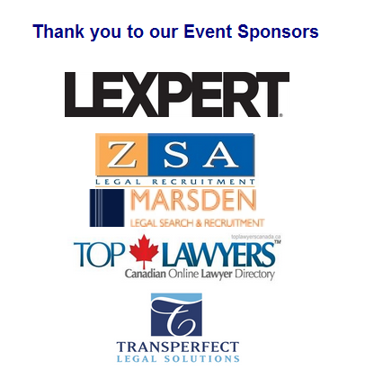 Get your tickets. Top Lawyers Sponsoring LMA Toronto Gala Event