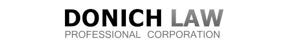 Criminal Defence Law Firm in Toronto - Donich Law