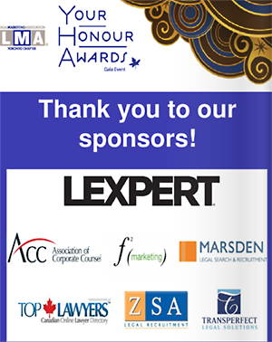 Top Lawyers was a proud LMA Toronto sponsor