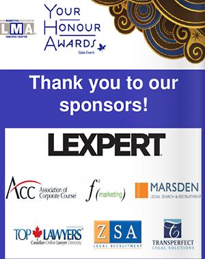 Top Lawyers was a proud LMA Toronto sponsor