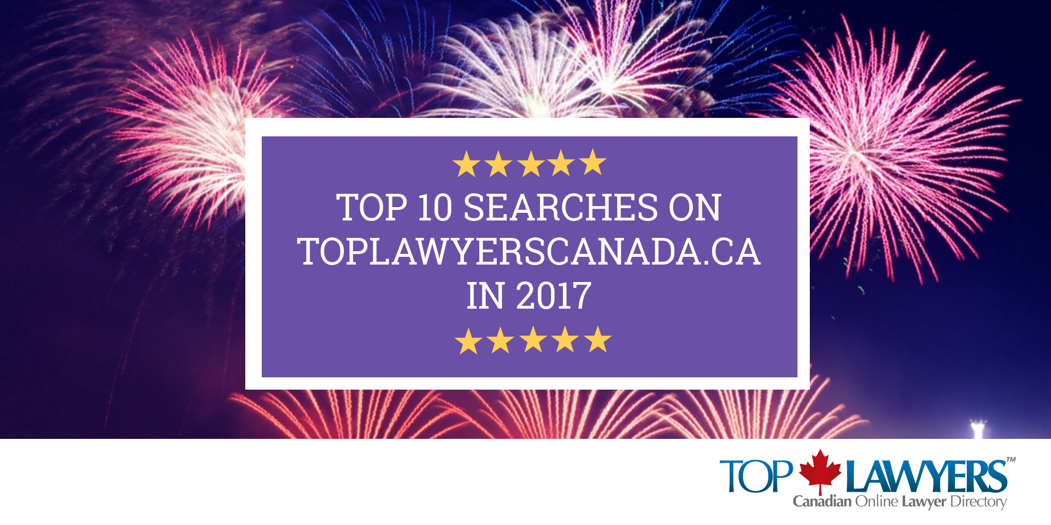 TOP 10 SEARCHES BY ON TOP LAWYERS 2017