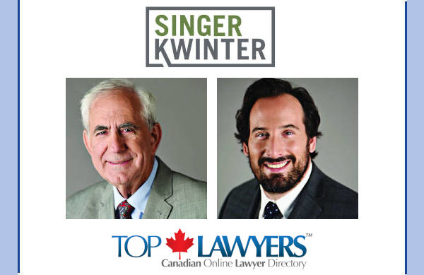 The Highly Respected Ontario Law Firm Singer Kwinter