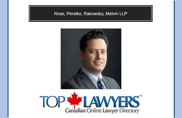 We are delighted to welcome Dan Bank - A Toronto Business Law Lawyer