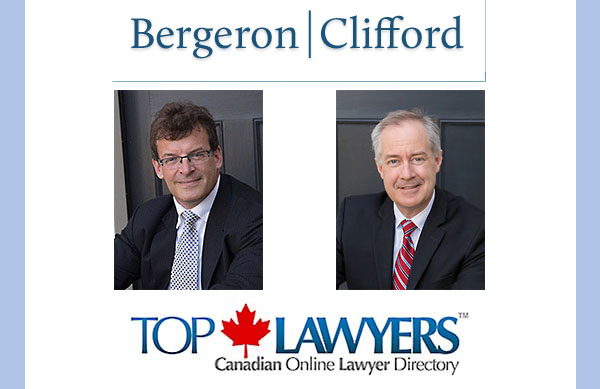 Top Lawyers™ Welcomes Bergeron Clifford LLP Founding Partners