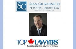 We are delighted to welcome Ottawa injury lawyer, Sean Giovannetti