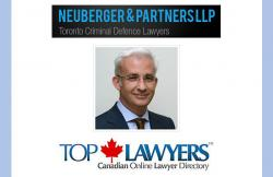 Top Toronto Criminal Defence Lawyer Joins Top Lawyers