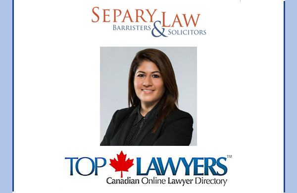 We are delighted to welcome Toronto divorce and family lawyer, Solmaz Separy